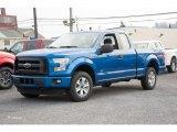 2016 Blue Flame Ford F150 XL SuperCab 4x4 #109210853