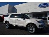 2016 White Platinum Metallic Tri-Coat Ford Explorer XLT #109210846