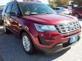 2016 Ruby Red Metallic Tri-Coat Ford Explorer FWD #109210803
