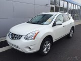 2013 Pearl White Nissan Rogue SV AWD #109210798