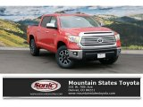 2016 Radiant Red Toyota Tundra Limited CrewMax 4x4 #109231505