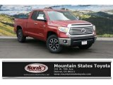 2016 Barcelona Red Metallic Toyota Tundra Limited Double Cab 4x4 #109231499