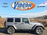 2016 Billet Silver Metallic Jeep Wrangler Unlimited Sahara 4x4 #109232109