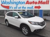 2014 White Diamond Pearl Honda CR-V EX AWD #109231680