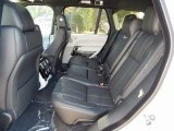 2016 Land Rover Range Rover HSE Rear Seat