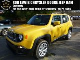 2016 Solar Yellow Jeep Renegade Latitude 4x4 #109231666