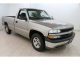 2002 Light Pewter Metallic Chevrolet Silverado 1500 LS Regular Cab #109232003