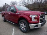 Ruby Red Ford F150 in 2016