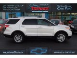 2014 White Platinum Ford Explorer XLT 4WD #109231553