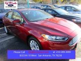 2016 Ruby Red Metallic Ford Fusion S #109273671