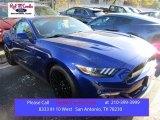 2016 Deep Impact Blue Metallic Ford Mustang GT Premium Coupe #109273670