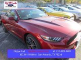 2016 Ruby Red Metallic Ford Mustang EcoBoost Coupe #109273669