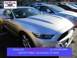 2016 Ingot Silver Metallic Ford Mustang V6 Coupe #109273668