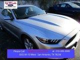 2016 Ingot Silver Metallic Ford Mustang V6 Coupe #109273666