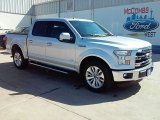 2015 Ingot Silver Metallic Ford F150 Lariat SuperCrew #109273664