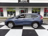 2014 Twilight Blue Metallic Honda CR-V EX-L #109273916