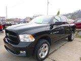 2012 Black Dodge Ram 1500 ST Crew Cab 4x4 #109273843