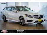 2016 designo Diamond White Metallic Mercedes-Benz E 350 4Matic Wagon #109273764