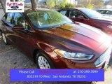 2016 Bronze Fire Metallic Ford Fusion S #109273678