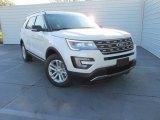 2016 White Platinum Metallic Tri-Coat Ford Explorer XLT #109273865