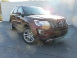 Bronze Fire Metallic Ford Explorer in 2016