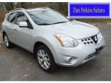 2013 Frosted Steel Nissan Rogue S AWD #109306061