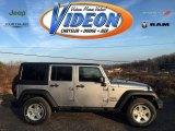 2016 Billet Silver Metallic Jeep Wrangler Unlimited Sport 4x4 #109306577