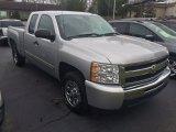 2011 Sheer Silver Metallic Chevrolet Silverado 1500 LS Extended Cab #109306506