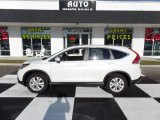2013 White Diamond Pearl Honda CR-V EX #109306402