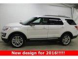 2016 White Platinum Metallic Tri-Coat Ford Explorer XLT 4WD #109306032