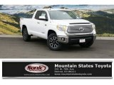 2016 Super White Toyota Tundra Limited CrewMax 4x4 #109306106