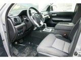 2016 Toyota Tundra SR5 CrewMax 4x4 Graphite Interior