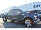 2016 Blue Jeans Ford F150 Lariat SuperCrew 4x4 #109336250