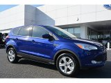 2016 Deep Impact Blue Metallic Ford Escape SE #109336249