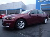 2016 Butte Red Metallic Chevrolet Malibu LS #109336303