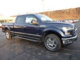 2016 Blue Jeans Ford F150 XLT SuperCrew 4x4 #109336234