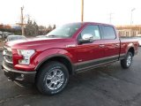 2016 Ford F150 Ruby Red
