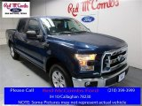 2016 Blue Jeans Ford F150 XLT SuperCrew #109336147