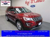 2016 Ruby Red Metallic Tri-Coat Ford Explorer Limited #109336136