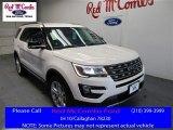 2016 White Platinum Metallic Tri-Coat Ford Explorer XLT #109336135