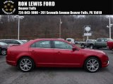 2011 Red Candy Metallic Ford Fusion SEL V6 #109336191