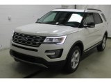 Oxford White Ford Explorer in 2016