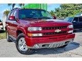 2005 Sport Red Metallic Chevrolet Tahoe Z71 4x4 #109371121