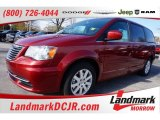 2016 Deep Cherry Red Crystal Pearl Chrysler Town & Country LX #109386803