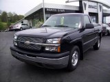 2004 Black Chevrolet Silverado 1500 Regular Cab #10930046