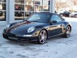 2008 Black Porsche 911 Carrera 4S Cabriolet #106297