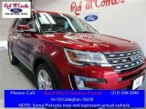 2016 Ruby Red Metallic Tri-Coat Ford Explorer Limited #109390949