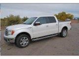 2014 Oxford White Ford F150 Lariat SuperCrew 4x4 #109391175