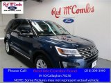 2016 Blue Jeans Metallic Ford Explorer XLT #109390944