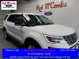 2016 Oxford White Ford Explorer XLT #109390943